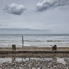 Sheringham (Nick J Stone) Tags: sea west beach norfolk east sheringham runton
