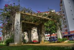 Estructura cuadrada (square structure) (Javierorp) Tags: nikon structure vegetation hdr vegetación estructura valdelagrana