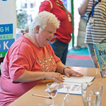 Val McDermid book signing