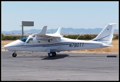 Tecnam P2006T (Dusty_73) Tags: california ranch airplane flying airport aircraft aviation twin 2006 harris coalinga tecnam 2006t p2006 p2006t