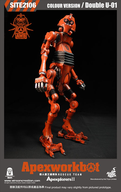 Hot Toys - OM120824 - Winson Classic Creation × Hot Toys: Apexplorers II - 猿人重工拯救隊 (彩色版)