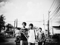 Barkada (Meljoe San Diego) Tags: bw film kids lomo lca kodak candid grain streetphotography meljoesandiego