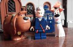 2016-204 - The Secret Life of Pets (Steve Schar) Tags: 2016 wisconsin sunprairie nikon nikonaw120 project365 project366 lego minifigure doctorwho tardis thesecretlifeofpets max duke dog dogs