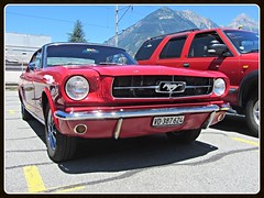 Ford Mustang, 1965 (v8dub) Tags: ford mustang 1965 schweiz suisse switzerland american muscle pkw pony voiture car wagen worldcars auto automobile automotive old oldtimer oldcar klassik classic collector