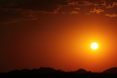 Sunset 6 28 16 #01 (Az Skies Photography) Tags: sun set sunset dusk twilight nightfall cloud clouds sky skyline skyscape scottsdale arizona az scottsdaleaz june 28 2016 june282016 62816 6282016 orange yellow gold golden salmon black