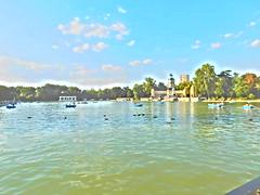 pintura fotografica (gorka garcia soto) Tags: pintura fotografica parque retiro agua patos balsas retrato