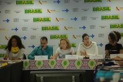 Georgiana Braga-Orillard, Diretora do UNAIDS Brasil, participa da Oficina