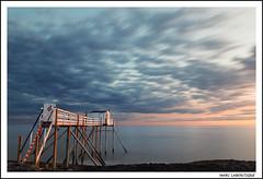 LE ROUGE EST MIS (Marc Laboutique) Tags: france charente maritime paysage pose longue longexposure carrelet ocean atlantique mer sea crepuscule twilight
