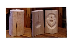 The Embrace wood carving log (Simon Dell Photography) Tags: the embrace wood carving log art simon dell artist carver design copy right sheffield hackenthorpe hand made