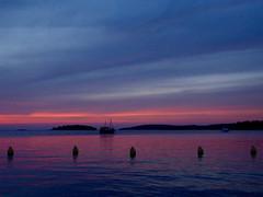 Another farewell (GillWilson) Tags: croatia istria sunset boats rovinj