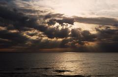Dark Clouds...(modified) (rimasjank) Tags: baltic sea clouds evening lithuania palanga sunset ngc npc