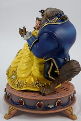 Beauty and the Beast Limited Edition Figurine - Disney Store Purchase - Full Right Side View (drj1828) Tags: us disneystore purchase beautyandthebeast limitededition figurine belle beast musical