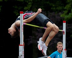 070 emile verdonck over 1m93 (babbo1957) Tags: belgian championship junior nijvel nivelles hoogspringen hauteur highjump verdonck azw