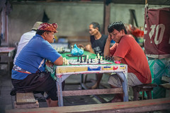 Evening Game of Chess (Dickie.T) Tags: singaraja market evening bali street