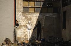 The Man Who Fell to Earth (adrizufe) Tags: poligonoindustrial eitua berriz durangaldea basquecountry decadente decadencia urban industrial ngc nikonstunninggallery nikon d7000 aplusphoto adrizufe adrianzubia wall wallpaiting graffiti themanwhofelltoearth ugly feismo