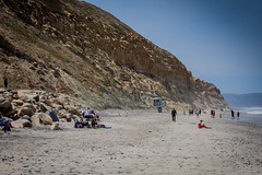 Torrey Pines State Beach (Photos By Clark) Tags: canon2470 canon60d sandiego california unitedstates pacific torreypine statebeach beach water sand waves lifeguard swim swimmers lightroom