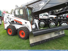 Bobcat S630 Plow (TheTransitCamera) Tags: 2016 minnesota state fair bobcat skid skidsteer loader snowplow equipment