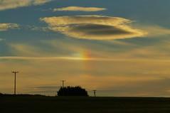 Sundog in the Sky..x (lisa@lethen) Tags: sundog silhouette weather htt lenticular cloud morning dawn sunrise