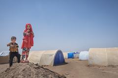 Hardship in the Desert_319 (EU Humanitarian Aid and Civil Protection) Tags: iraq fallujah anbar water nrc norwegianrefugeecouncil children desert