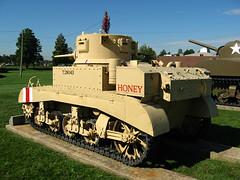 M3 Light Tank- Rear (Art_Reid) Tags: tank lighttank stuart honey armour armor usarmy royalarmy desertrats 7tharmoureddivision apg military museum aberdeenprovinggrounds aberdeenmd unitedstatesarmyordnancemuseum