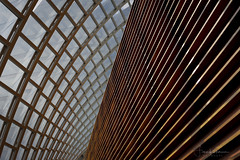 The Kimmel Center for the Performing Arts (Fiona Katarina) Tags: kimmelcenter philadelphia phila lines curves reflections architecture