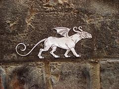 GARGOUILLE (ludwigraphik) Tags: ludwigraphik ludwig streetart collage crest gargouille