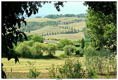 Tuscany Italy (vazyvite) Tags: tuscany italy toscane italie val orcia zigzag road foce montepulciano landscape paysage