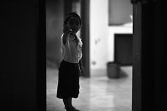 The SALUTE (N A Y E E M) Tags: umar kalam son portrait door corridor today afternoon home 1stfloor rabiarahmanlane chittagong bangladesh availablelight indoors waistlevel salute heil lulu