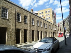 Wapping Buildings (Avvie_) Tags: frances coles london east spitalfields aldgate whitechapel jack ripper stepney wapping catherine wheel alley swallow gardens st georges mortuary