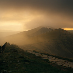 The Great Ridge (David Raynham) Tags: peakdistrict darkpeak edale castleton thegreatridge mamtor backtor losehill mist cloud sunrise atmosphere colour england uk greatbritain nature outdoors outside 2016 squarecrop hills nikon d750 sigma50mmf14art fullframe fx ngc