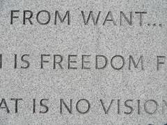 Around New York: Roosevelt Island, Sep. 2016 (yapima1) Tags: newyork rooseveltisland fdr four freedoms franklindelanoroosevelt
