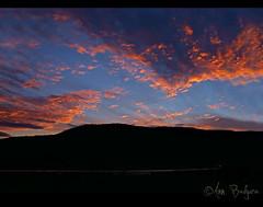 Shuswap Sunset (Ann Badjura Photography) Tags: sunset lake canada mountains water clouds landscape evening scenery view britishcolumbia mara salmonarm sicamous shuswap maralake cans2s