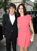 Ronnie Wood and Sally Humphreys Arqiva Commercial Radio Awards 2012 London, England