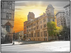 Syracuse  Ny ~ The Gridley Building ~ 1867 ~ Historic (Onasill ~ Bill Badzo) Tags: ny building architecture america victorian bank historic empire second syracuse gridley onondaga nrhp