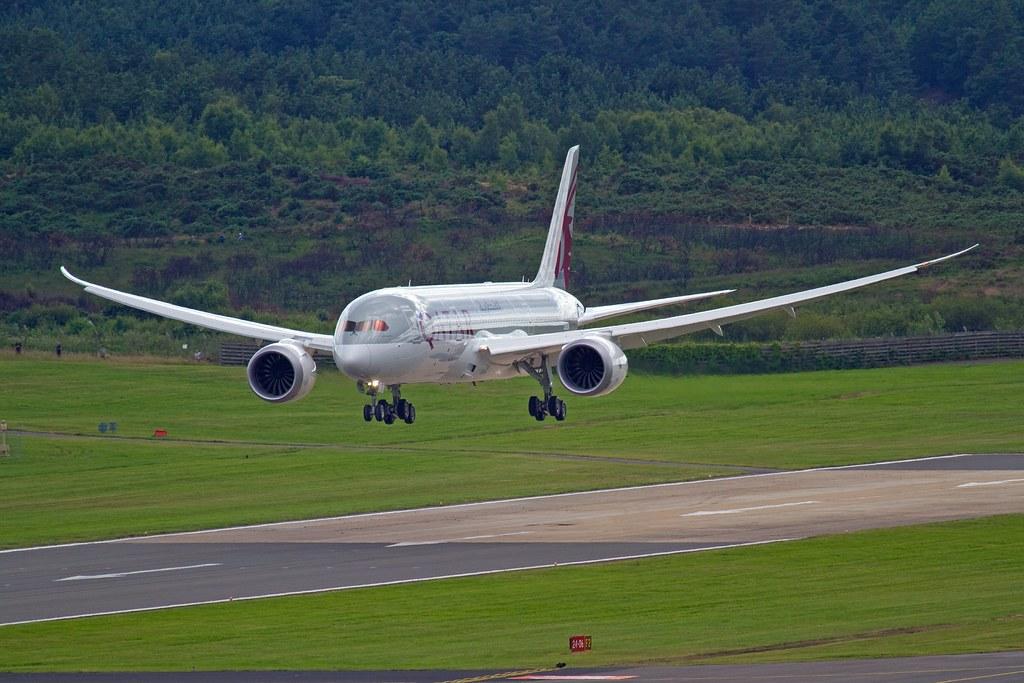 Qatar Airways Boeing 787 Dreamliner by RS Deakin, on Flickr