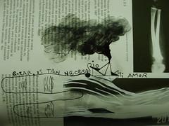 n e c r o f i l i a (Felipe Smides) Tags: libro manos dibujos dibujo pintura pinturas torrentes raìces smides felipesmides sanguíneos