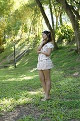 _DSC9093 (rickytanghkg) Tags: summer portrait cute green girl female asian model outdoor chinese