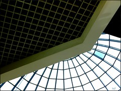 Malha (J-E-F-F) Tags: abstract mall grid minimal dome malha ministract theauthorsplaza