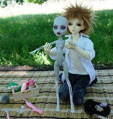 SAM_4978 (Agathe_Zeblues) Tags: monster high mo bjd crature dollzone