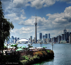 to skyline (explored at the 46th position) (Rex Montalban Photography) Tags: toronto ferry skyline nikon hdr centreisland hss d7000 rexmontalbanphotography sliderssunday