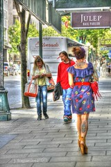 Summer In The City (~~J) Tags: seattle street city summer people hippies soundtrackmonday