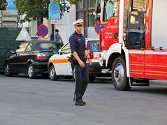 Austrian Cop (hrd260) Tags: canon eos austria uniform europe gun police cop copper fireengine polizei policeman austrian policeofficer emergencyservices 550d canoneos550d