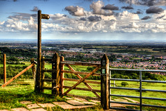 407 - Around Horwich - Georges Lane (Gary Forrest) Tags: summer landscape photo nikon stadium file single lane bwfc scenes georges f28 hdr horwich d800 reebok 2470mm tonemap scenc