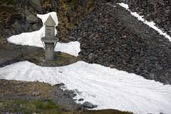 """Petit """"minaret"""" de barrage, prs du Bldalsvatnet, glacier Folgefonna, Kvinnherad, Hordaland, Norvge, le 5 juillet 2012 (Stphane Bily) Tags: glacier barrage hordaland norvge folgefonna kvinnherad stphanebily bldalsvatnet"""