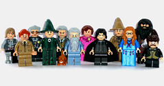 Lego Harry Potter Hogwarts Professors (BarbWireBlonde2) Tags: eye moody lego harry potter sybil professor mad mrs dolores minerva mcgonagall sprout lupin norris snape remus hagrid argus hooch dumbledore albus trelawney severus umbridge filch flitwick filius rubeus