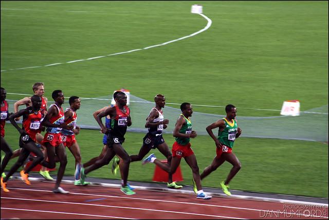 Mo Farah, Men's 10,000m Champion!