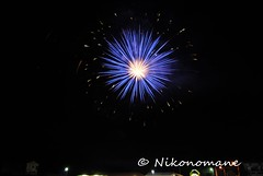 Fireworks! (Nikonomane) Tags: italy fire reflex nikon fireworks firework luci festa itali tinte feu dartifice 2012 havai fyrverkeri ilotulitus artificiali fuochi fermo fuochiartificiali merana patronale    fiek    nikond3000 sfermo ealane nikonomane ilnikonomane
