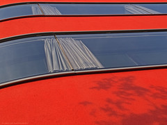architecture backgrounds (scubaluna) Tags: orange detail outdoors schweiz fenster luzern architektur schatten gebude perspektive fassade abstrakt studie weitwinkel sonnenlicht eichhof verputz scubalunaphotography olympusesysstem