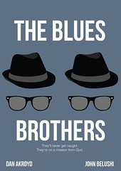 (catta-design) Tags: wallpaper music art film movie poster design graphicdesign dvd blues bluesbrothers johnbelushi danakroyd thebluesbrothers cattadesign