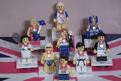 And here's one I made earlier (Paranoid from suffolk) Tags: london lego minifigs olympics 2012 minifigures